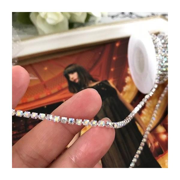 ラインストーン チェーン 衣装 ハンドメイド ダンス 縫い付け レオタード 装飾 elisabeth 03