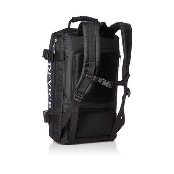 [デバイス] リュック バックパック DRN70098 BK ブラック