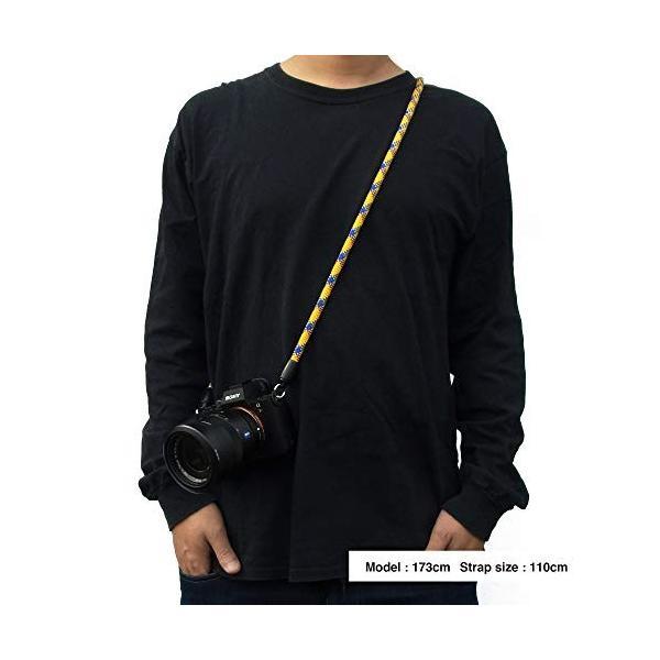 EXTENDED PHOTOGRAPHIC MATERIAL ヨセミテカメラストラップ ドッグマウンテン 110cm 20057|ellies-os|02