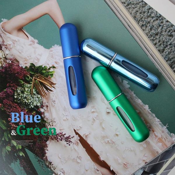 アトマイザー 香水 5ml クイックアトマイザー 香水瓶 持ち運び 詰め替え スプレー 軽くて小さい カプセル ミニボトル アロマ フレグランス コロン 携帯|elpisstore|15