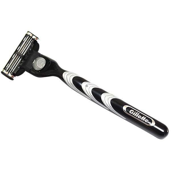 ジレット Gillette マッハ3 メンズ カミソリ 3枚刃 T字 剃刀 髭剃り シェービング elshaddai10202nd 03