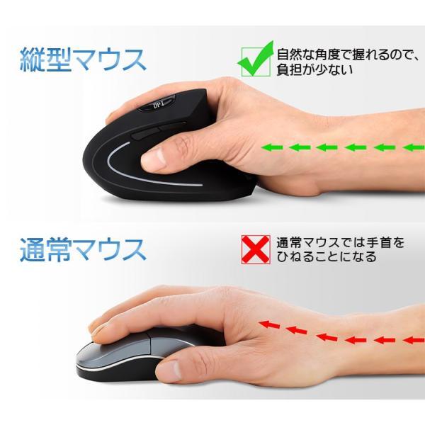ワイヤレスマウス マウス Bluetooth 4.0 エルゴノミクスマウス 腱鞘炎防止 おしゃれ 3段階DPI 無線 光学式 ブルートゥース E45|elukshop|04