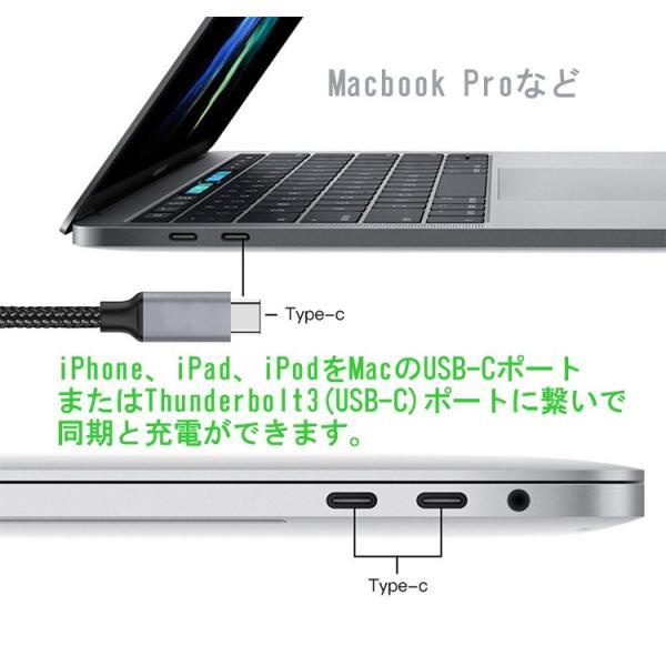 USB Type-C-iPhone充電ケーブル iPhone8 iPhoneX PD Power-Delivery 急速充電 iOS12対応 高品質 1m elukshop 07
