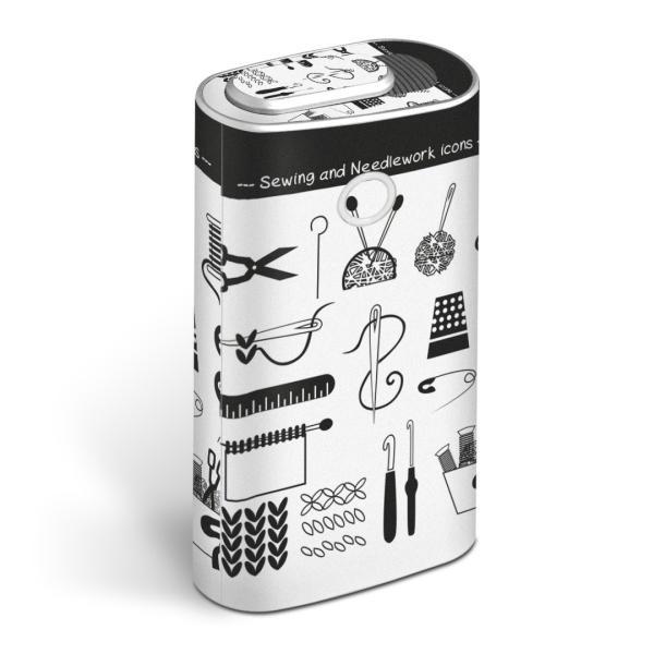 glo グロー グロウ 専用スキンシール 全面 + 天面 + 底面 360°フルセット  裁縫 道具 014157