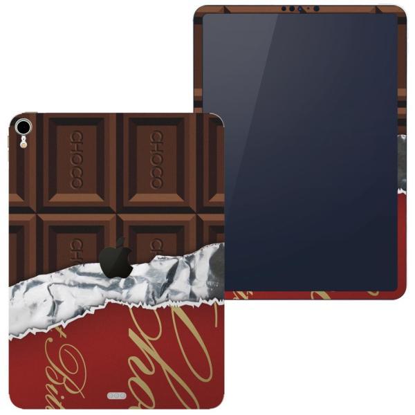 igsticker iPad Pro 11 inch インチ 対応 apple アップル アイパッド A1934 A1979 A1980 A2013 スキンシール  チョコレート ブラウン 002443
