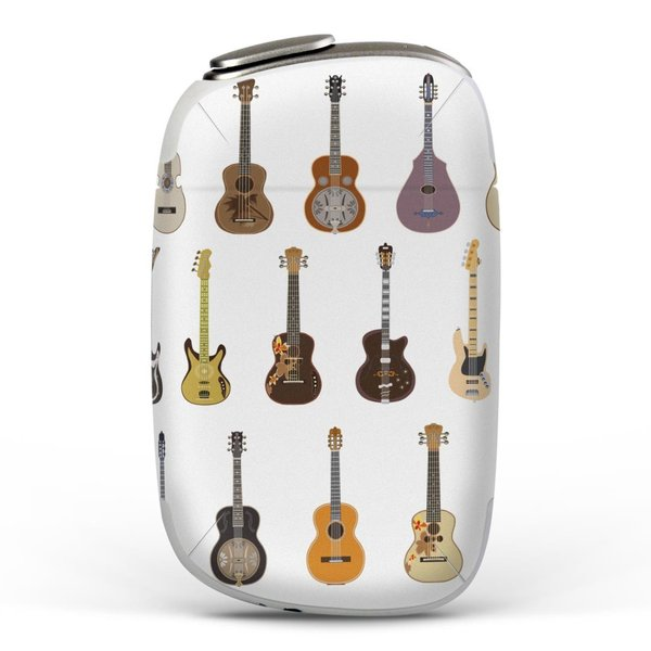 igsticker PloomS 専用 プルームテック ploom tech S デザインスキンシール カバー ケース 保護 フィルム ギター 音楽 楽器 014362