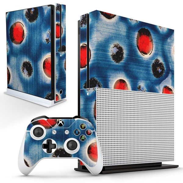 「宅配便専用」igsticker Xbox One S 専用 デザインスキンシール エックスボックス 本体裏表用 コントローラー用  模様 ユニーク 014432