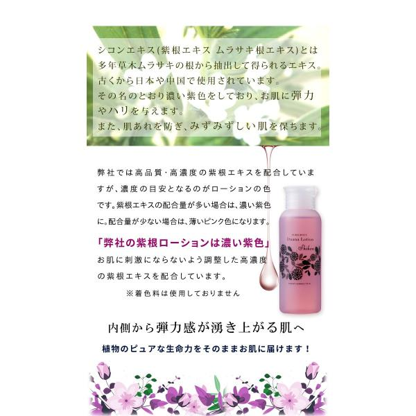 たるみ シワ くすみ 年齢肌 プチプラシリーズ エイジングケア化粧水 シコンローション 無添加コスメ embellir0430 03