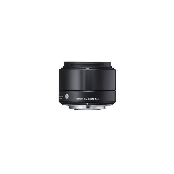 シグマ 19mm F2.8 DN ソニーEマウント用 ブラック