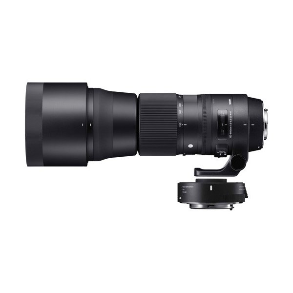 シグマ 150-600mm F5-6.3 DG OS HSM Contemporary テレコンバーターキット キヤノン用 《納期約1−2週間》
