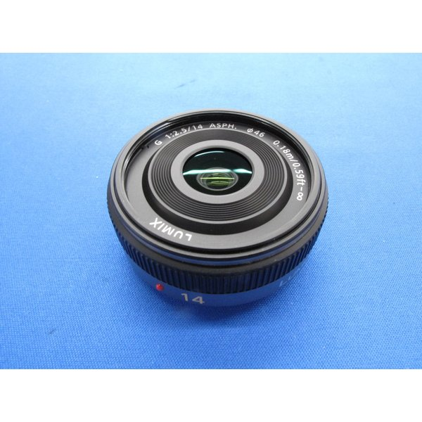 【中古】 【美品】 パナソニック LUMIX G 14mm/F2.5 ASPH [H-H014]