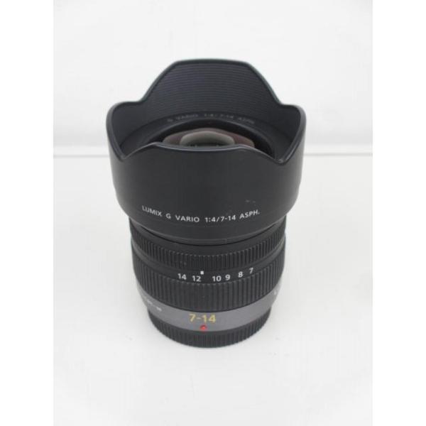 【中古】 【良品】 パナソニック LUMIX G VARIO 7-14mm/F4.0 ASPH. [H-F007014]