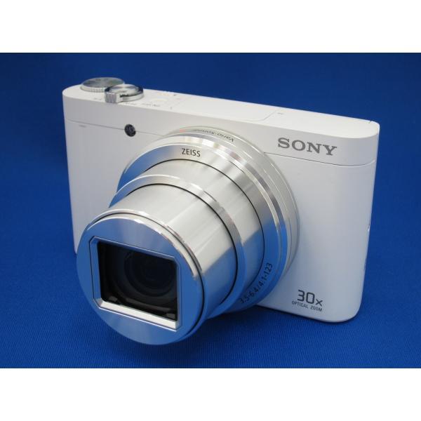 ソニー 高倍率コンパクトカメラ Cyber-shot(サイバーショット) DSC-WX500 W ホワイトの画像