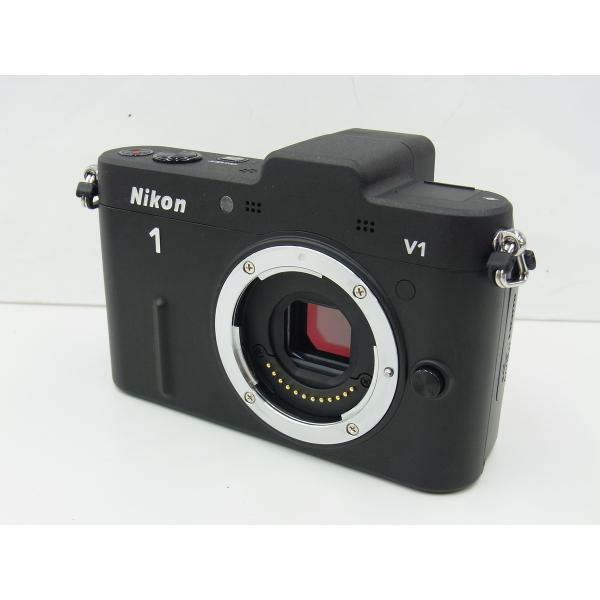 【中古】 【良品】 ニコン Nikon1 V1 ボディ ブラック