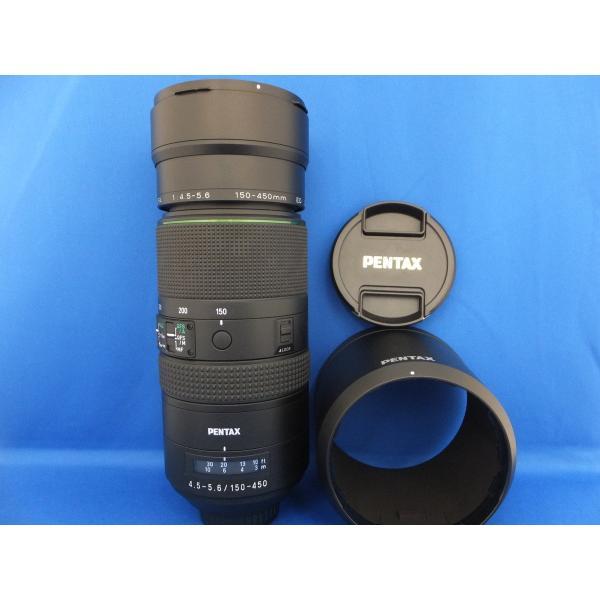 【中古】 【良品】 ペンタックス HD PENTAX-D FA 150-450mm F4.5-5.6 ED DC AW