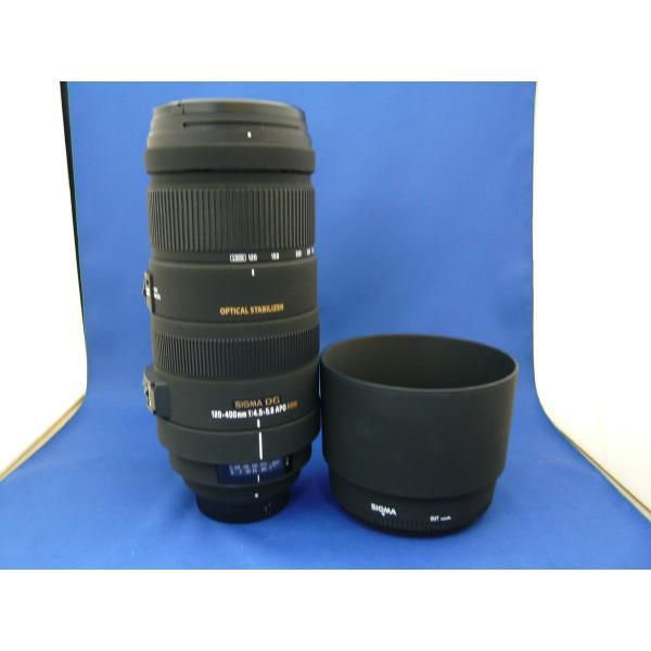 【中古】 【良品】 シグマ APO 120-400mm F4.5-5.6 DG OS HSM ニコン用