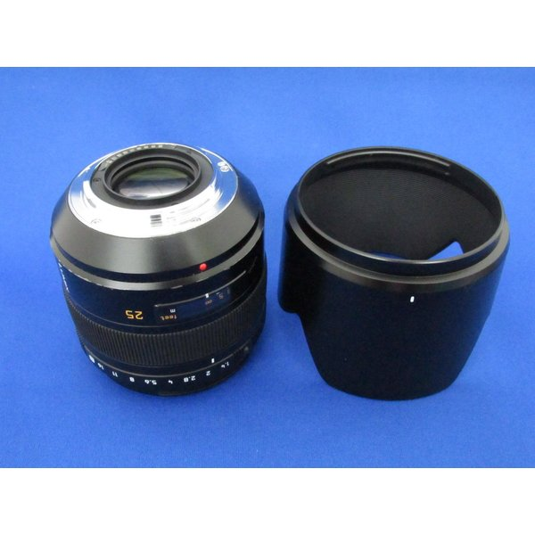 【並品】 パナソニック LEICA D SUMMILUX 25mmF1.4ASPフォーサーズ用