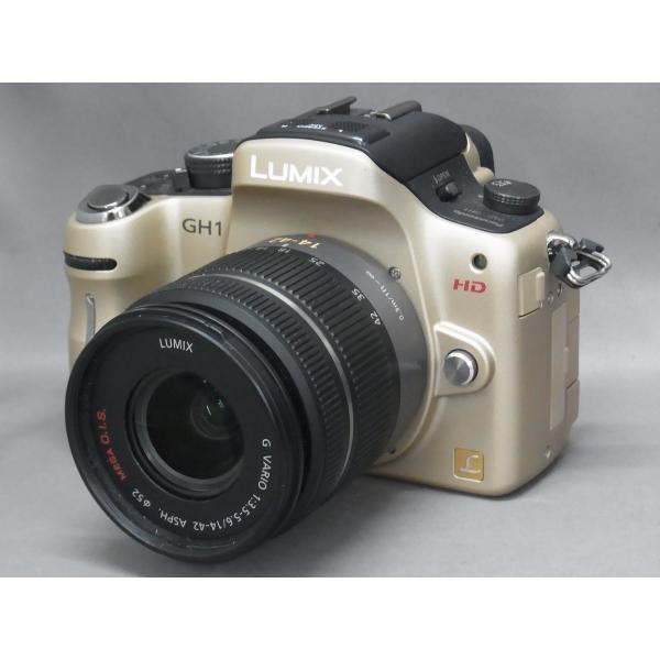 【中古】 【良品】 パナソニック LUMIX DMC-GH1K-N 14-140mm レンズキット コンフォートゴールド