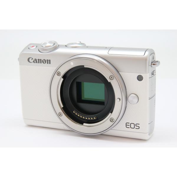 キヤノン EOS M100 ボディ ホワイトの画像