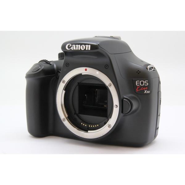 Canon(キヤノン) EOS Kiss X50 ボディ ブラックの画像