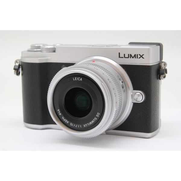 パナソニック LUMIX DC-GX7MK3L-S 単焦点ライカDGレンズキット シルバーの画像