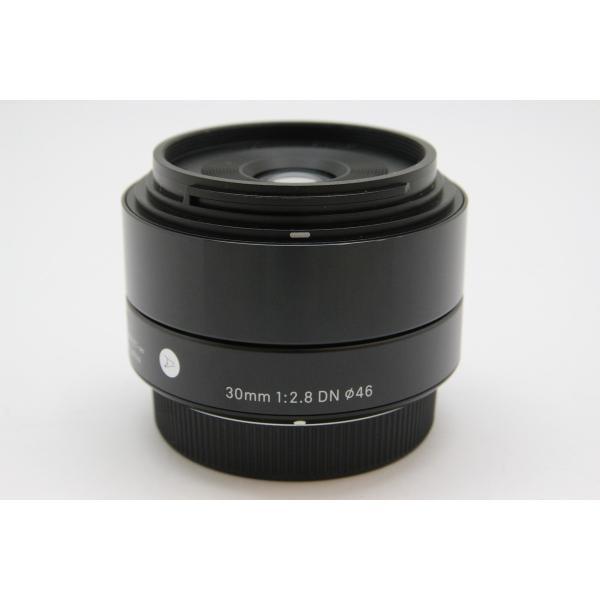 SIGMA(シグマ) A 30mm F2.8 DN (マイクロフォーサーズ用) ブラックの画像