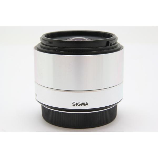 【中古】 【並品】 シグマ 19mm F2.8 DN マイクロフォーサーズ用 シルバー