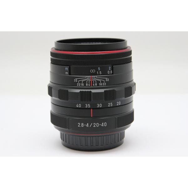 【中古】 【並品】 ペンタックス HD PENTAX-DA 20-40mm F2.8-4 ED Limited DC WR ブラック