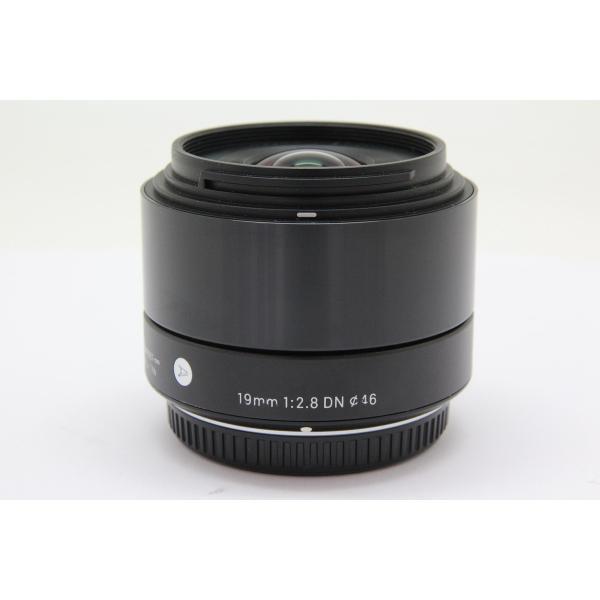 【中古】 【並品】 シグマ 19mm F2.8 DN マイクロフォーサーズ用 ブラック