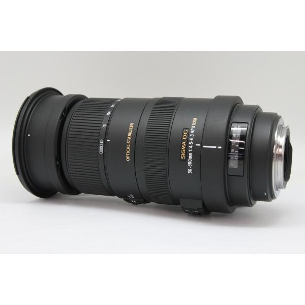 【中古】 【並品】 シグマ APO 50-500mm F4.5-6.3 DG OS HSM キヤノン用