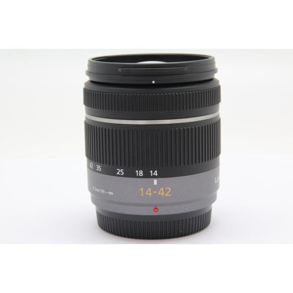 【中古】 【並品】 パナソニック LUMIX G VARIO 14-42mm F3.5-5.6 ASPH./MEGA O.I.S.