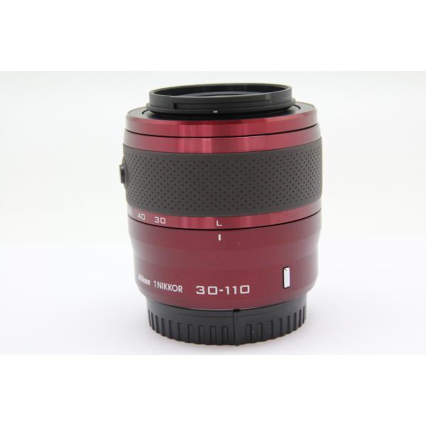 【中古】 【並品】 ニコン 1NIKKOR VR30-110mm F3.8-5.6 レッド