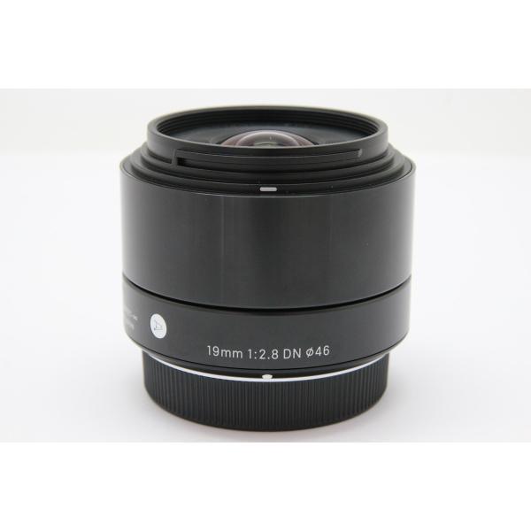 【中古】 【良品】 シグマ 19mm F2.8 DN マイクロフォーサーズ用 ブラック