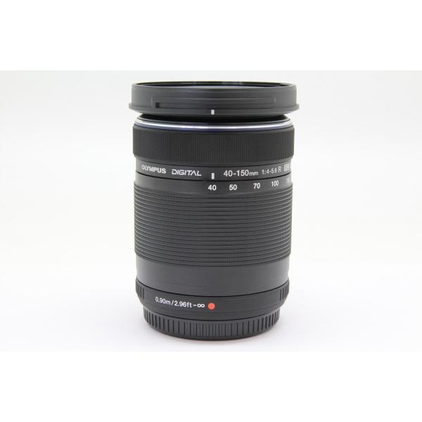 【中古】 【並品】 オリンパス M.ZUIKO DIGITAL ED 40-150mm F4.0-5.6 R ブラック