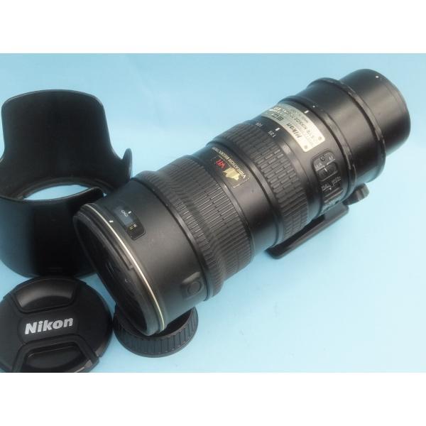 【並品】 ニコン AF-S VR Zoom Nikkor ED 70-200mm F2.8G(IF)BK