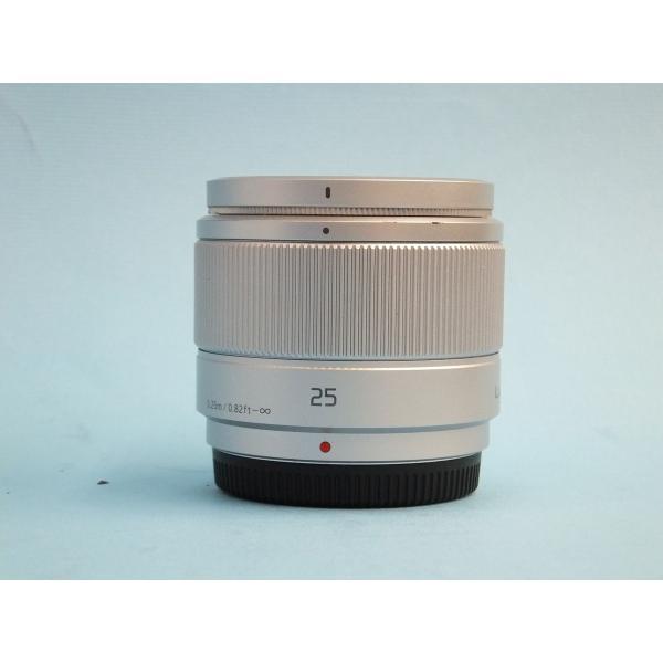 【良品】 パナソニック LUMIX G 25mm F1.7 ASPH. [H-H025S] シルバー