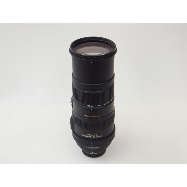 【中古】 【並品】 シグマ APO 150-500mm F5-6.3 DG OS HSM ニコン用