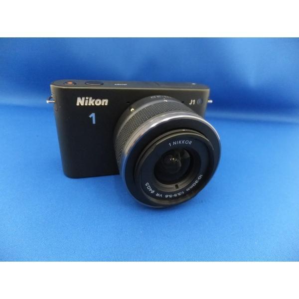 【中古】 【良品】 ニコン Nikon1 J1 標準ズームレンズキット ブラック