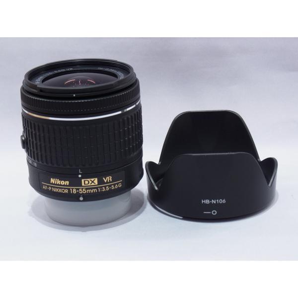 【中古】 【良品】 ニコン AF-P DX NIKKOR 18-55mm f/3.5-5.6G VR