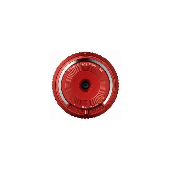 オリンパス 15mm F8 ボディキャップレンズ BCL-1580 レッド