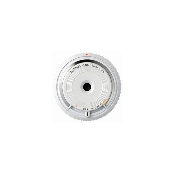 オリンパス 15mm F8 ボディキャップレンズ BCL-1580 ホワイト