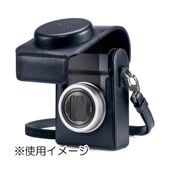 ライカ C-LUX用 レザーケース ブルー