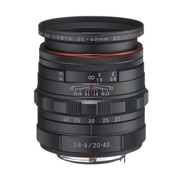 ペンタックス HD PENTAX-DA 20-40mm F2.8-4 ED Limited DC WR ブラック