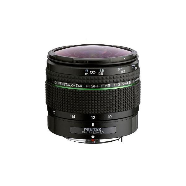 ペンタックス HD DA FISH-EYE10-17mm F3.5-4.5ED 《7月26日発売予定》