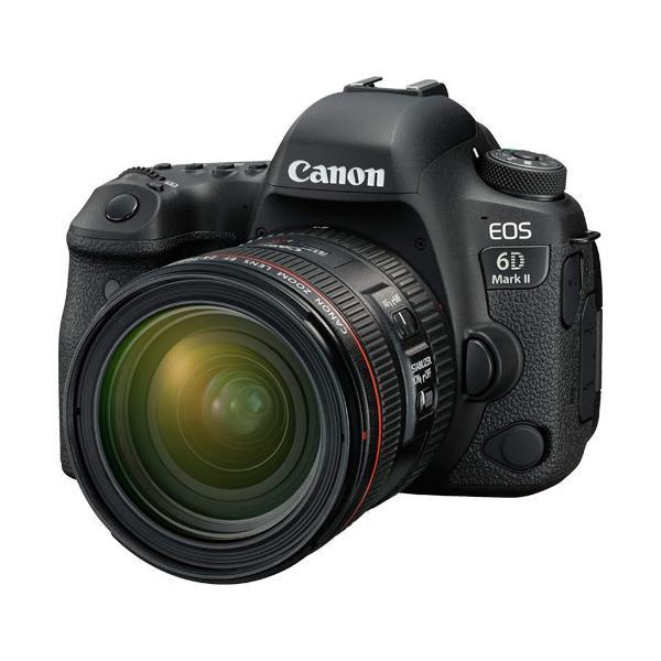 キヤノン EOS 6D MarkII EF24-70 F4L IS USM レンズキット 《納期約1−2週間》