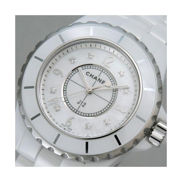 シャネル レディース腕時計 J12 8Pダイヤ  H2422