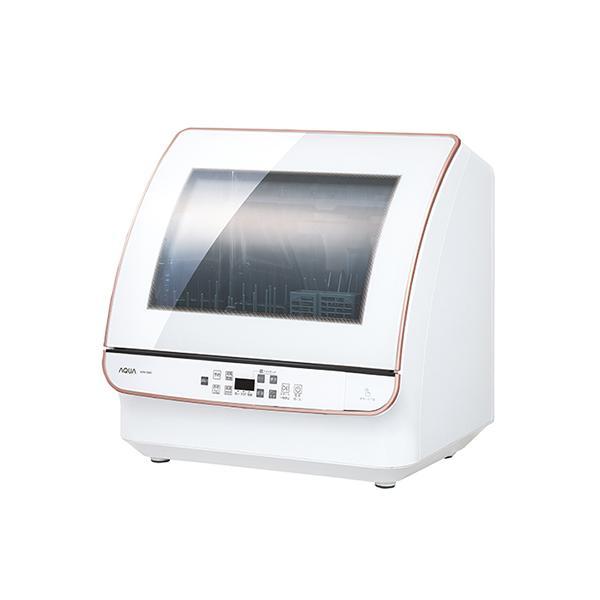 アクア AQUA 食器洗い機 (送風乾燥機能付き) ADW-GM2-W ホワイト