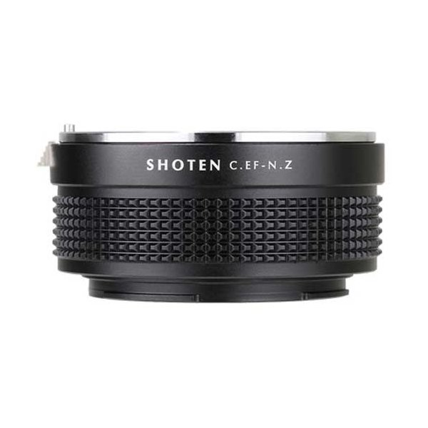 SHOTEN CEF-NZ マウントアダプター[レンズ側:キヤノンEF ボディ側:ニコンZ] 《納期約2−3週間》