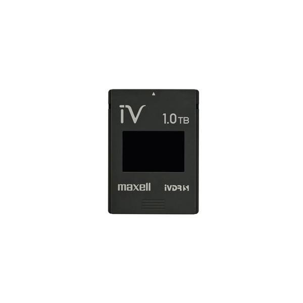 日立マクセル iVカセット マクセル 1TB M-VDRS1T.E.BK ブラックの画像