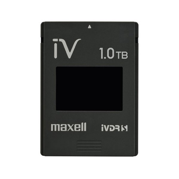 日立マクセル iVカセット 1TB簡易包装パック M-VDRS1T.E.BK.K ブラックの画像